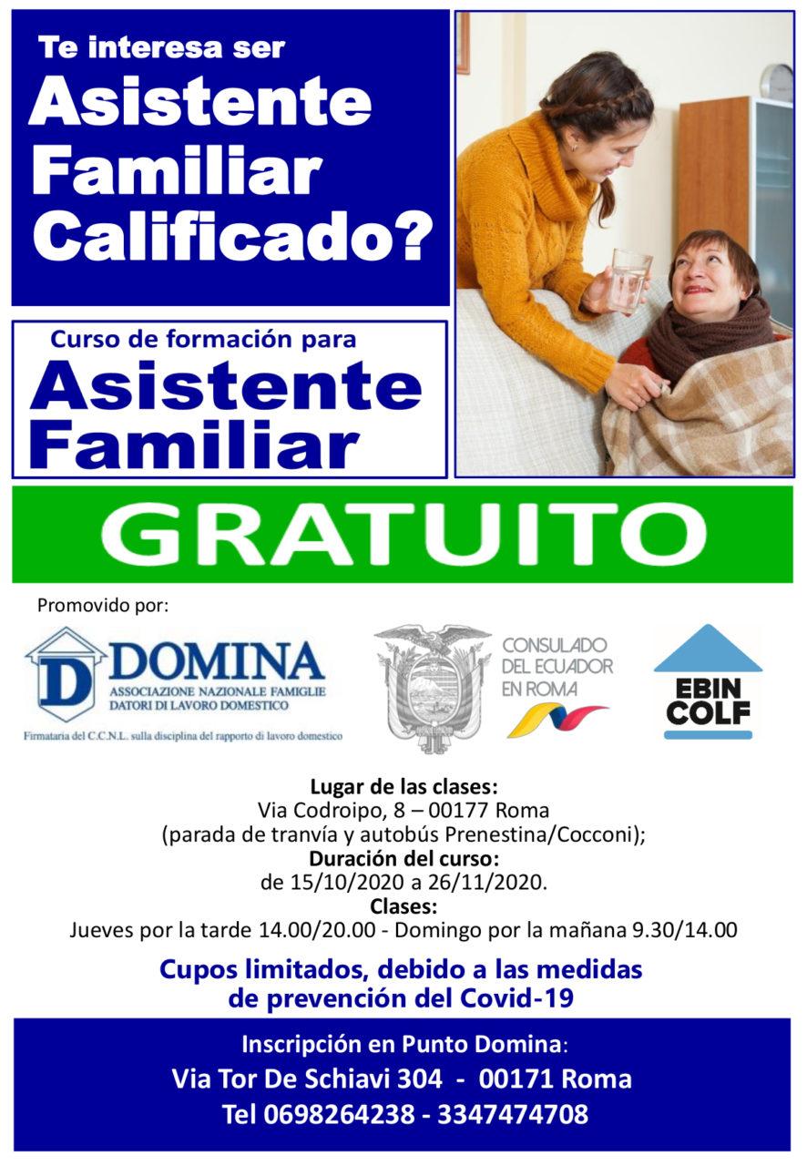 Corso Assistente Familiare - Visti & Immigrazione   InTray.it